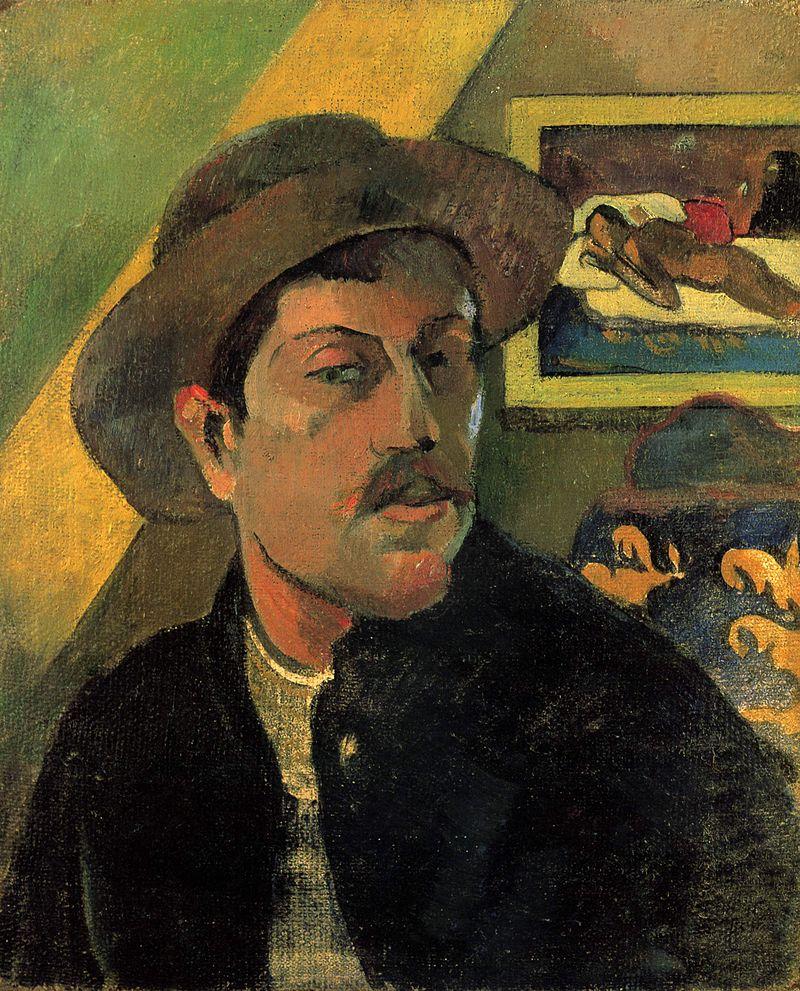 Paul Gauguin, Selbstportrait, 1893