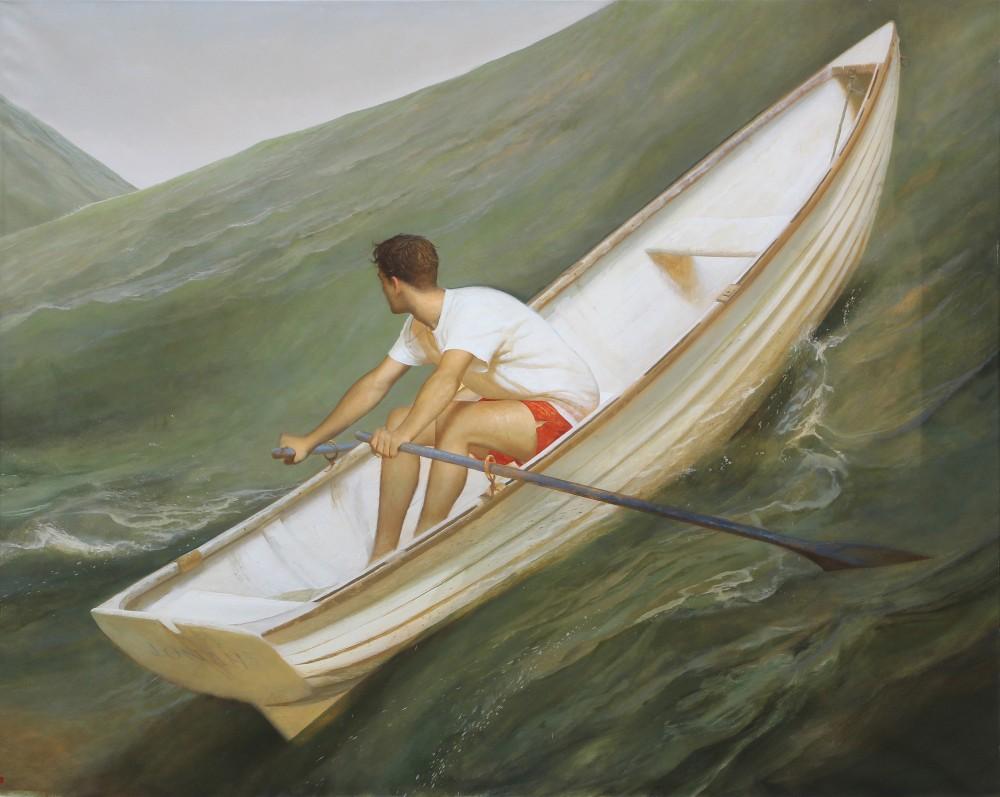 Bo Bartlett painting