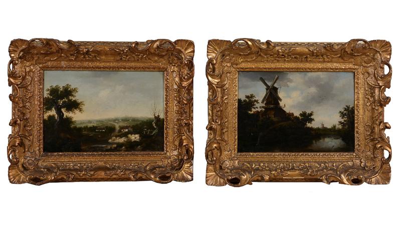 Landskapsscen, attributerad Patrick Nasmyth (1787-1831). Dreweatts & Bloomsbury auctions.
