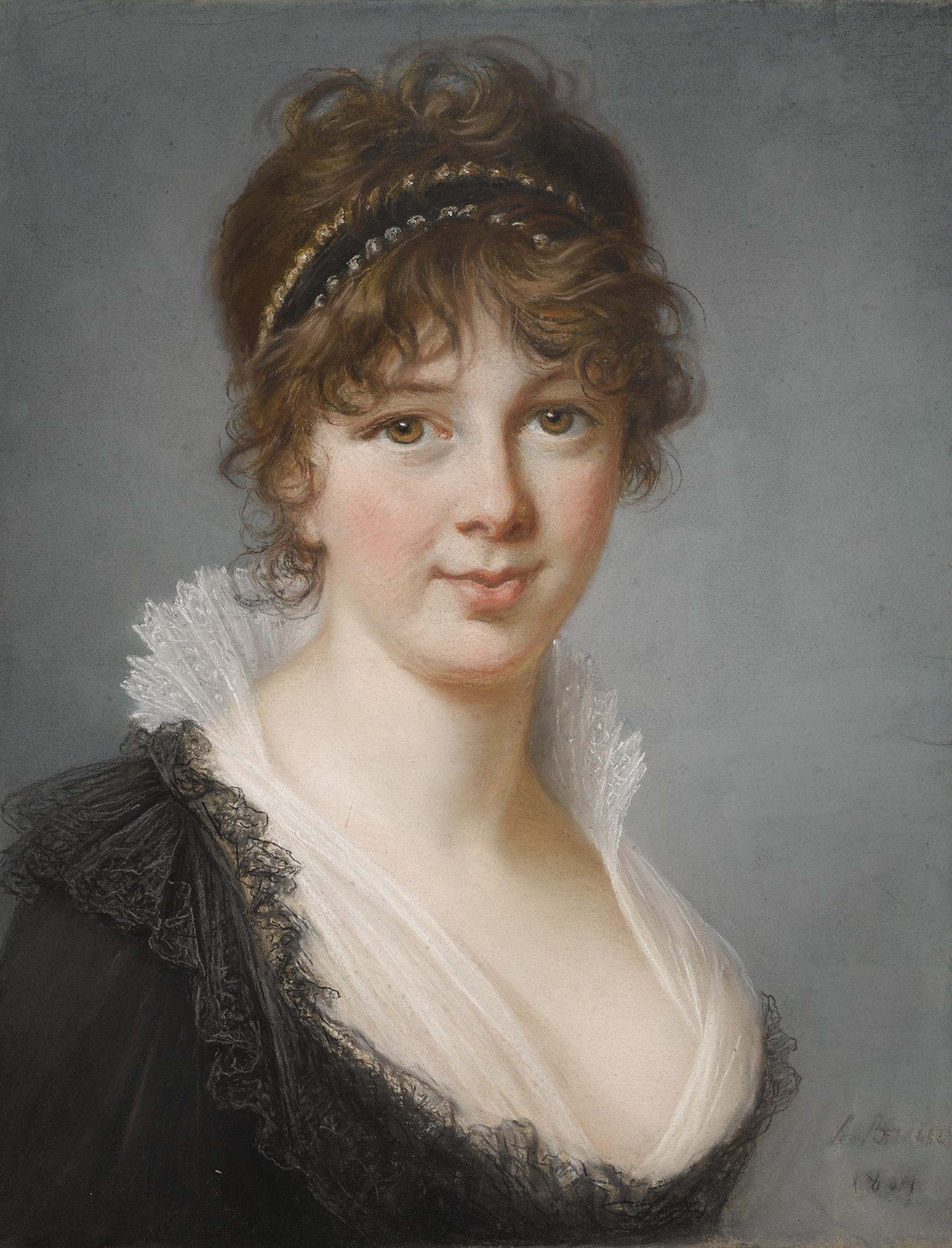 Neben dem Bildnis des Mohammed Dervish Khan versteigert Sotheby's am 30. Januar dieses Portrait von Mrs. Spencer Perceval, das Vigée-Lebrun 1804 malte | Abb.: Sotheby's