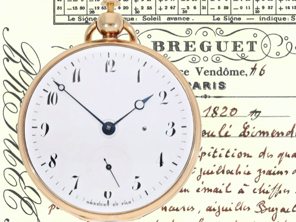 Breguet Repeater Watch with Very Rare Caliber, 1809-19 | Photo: Cortrie