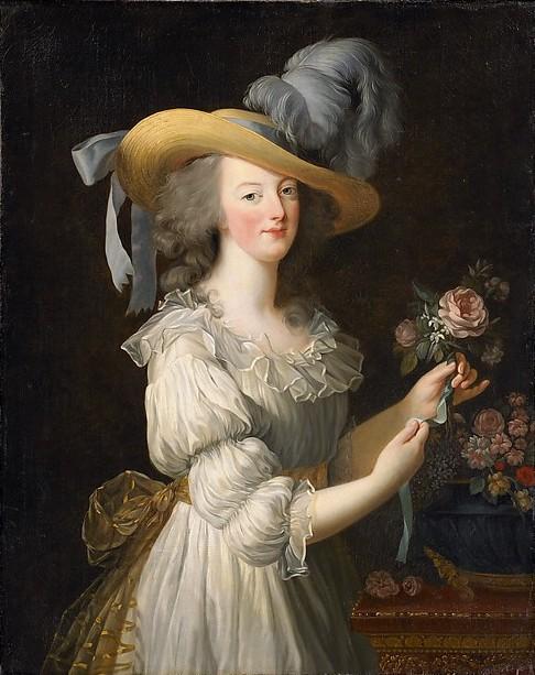 Portrait de Marie-Antoinette en chemise, par Élisabeth Vigée Lebrun, image ©The Metropolitan Museum of Art