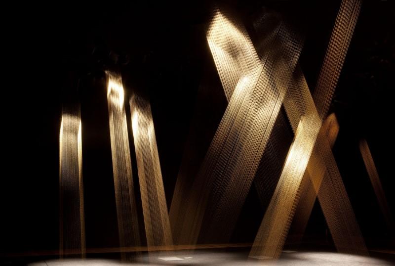"""Lygia Pape, """"Ttéia 1"""" (2003/2012). Foto: Moderna Museet."""