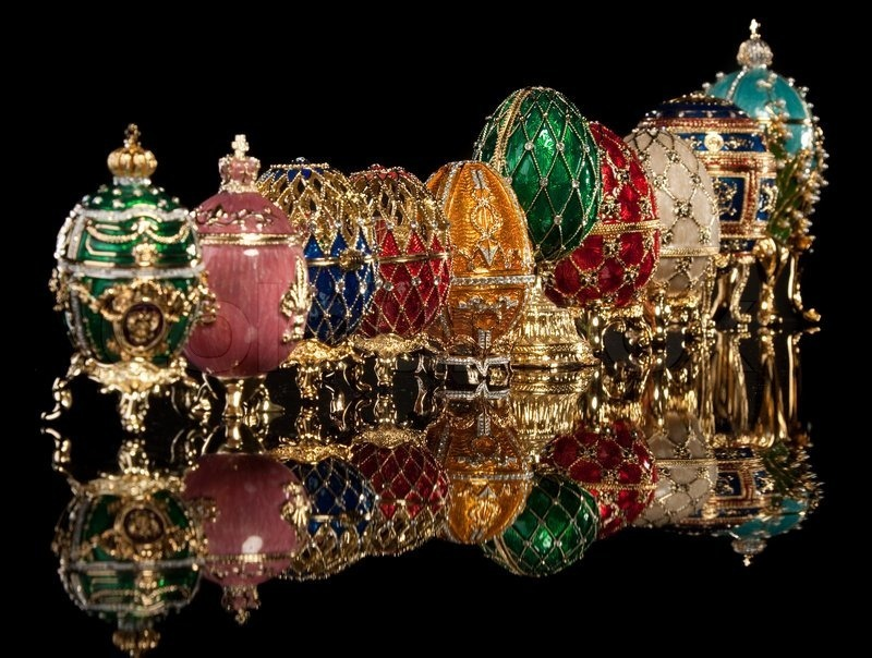 Fabergéägg Image via colourbox.com