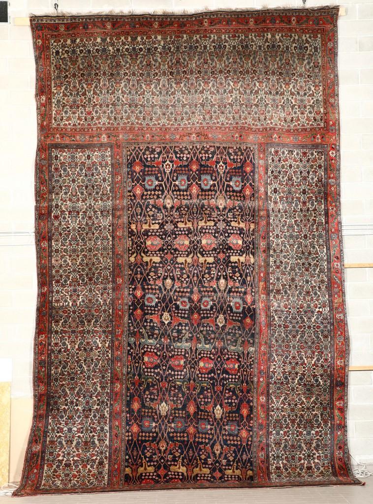 Important tapis persan Bidjar Triclinum XIXe siècle Estimation: 10 000- 12 000 €