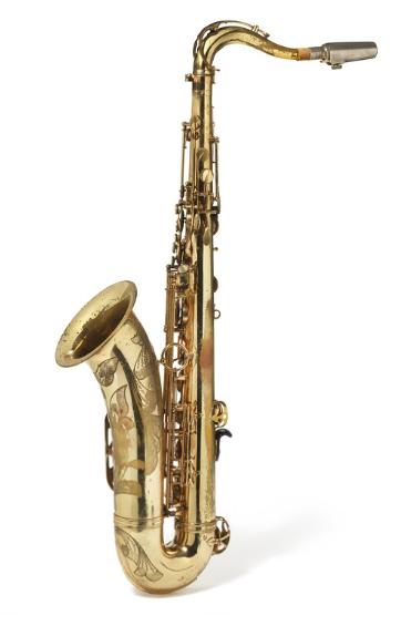 "SELMER Mark IV Tenorsaxophon ""Ancient Horns"", 1967"