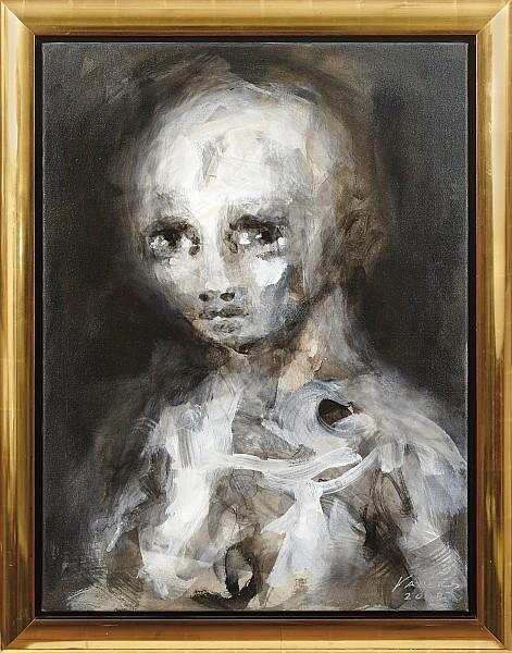 FRANK VADERS - Ohne Titel, Öl/Acryl/Lwd., 100 x 75 cm, signiert und datiert, 2008 Schätzpreis: 20.000 EUR