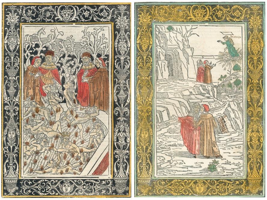 DANTE ALIGHIERI - La Commedia (1487) Schätzpreis: 100.000 EUR