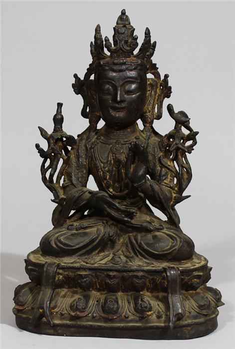 Skulptur Bodhisattva Guanyin, Ming-Zeit