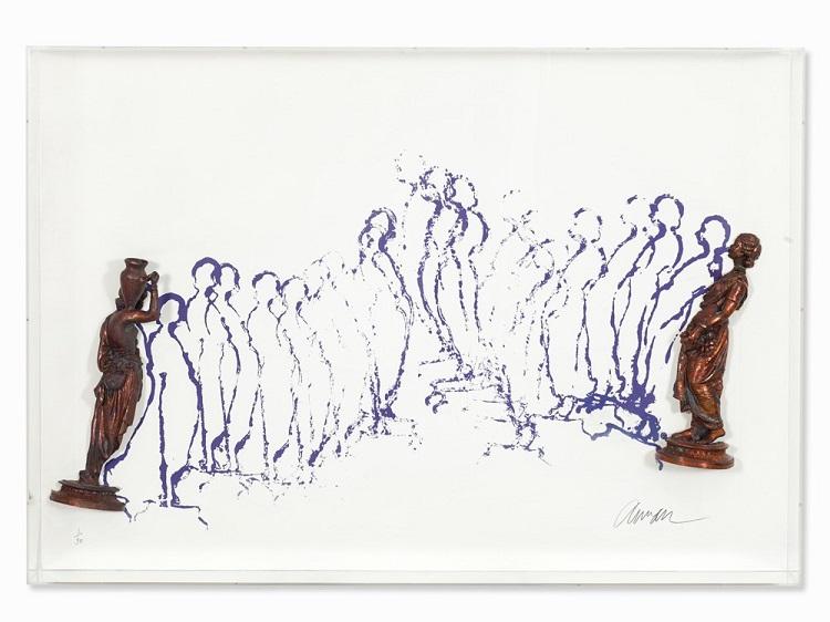 Fernandez Arman auctionata