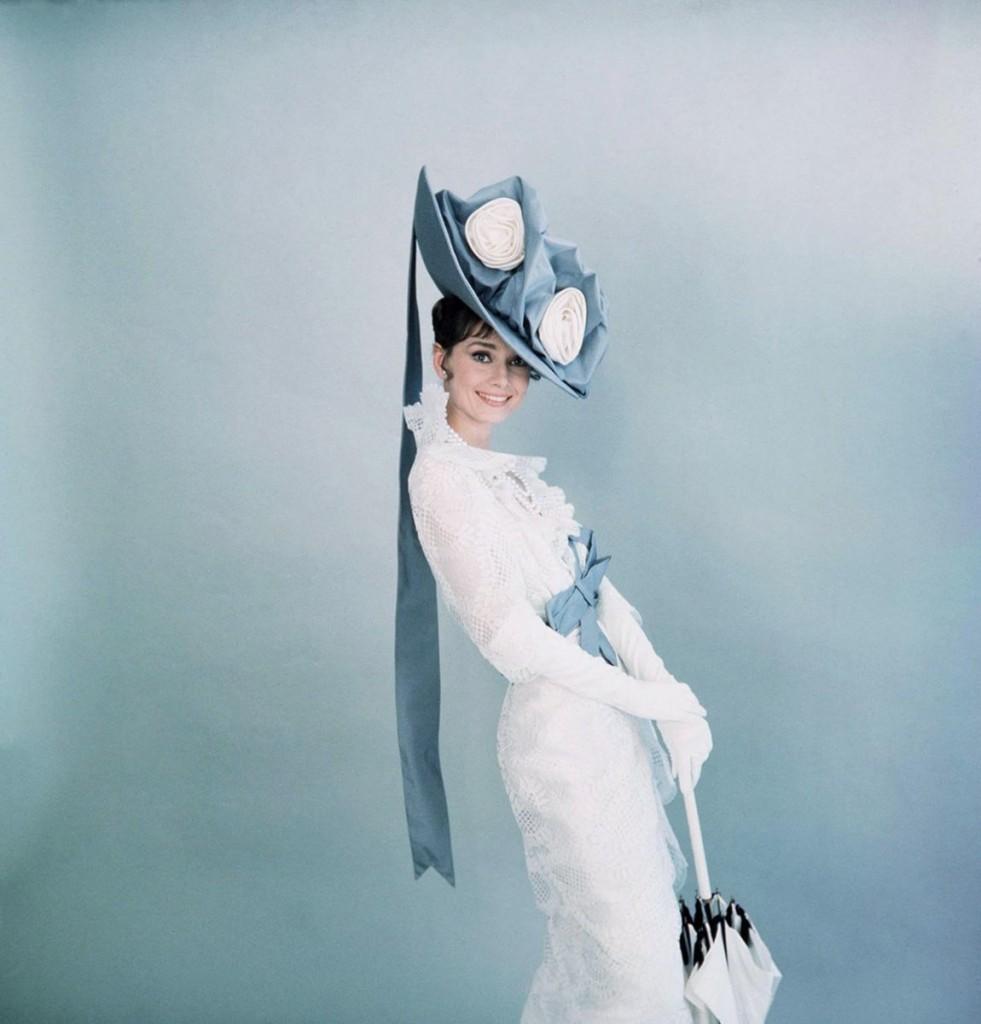 Eliza Doolittles Kostüm in My Fair Lady, 1964, entworfen von Cecil Beaton