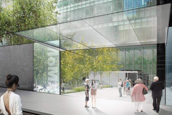 Simulation de l'agrandissement du Museum of Modern Art. © 2014 Diller Scofidio + Renfro