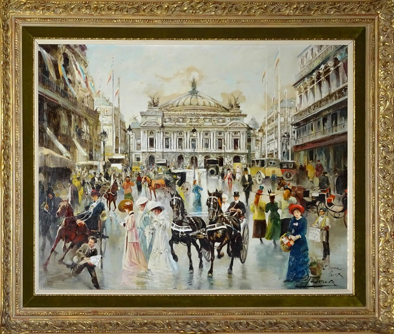 """ALFREDO PALMERO DE GREGORIO. """"L'Ópera de París"""""""