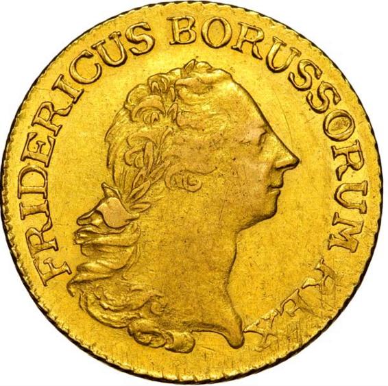 Allemagne - Royaume de Prusse - Frédéric II Le Grand  2 Frederics d'or 1770 Berlin
