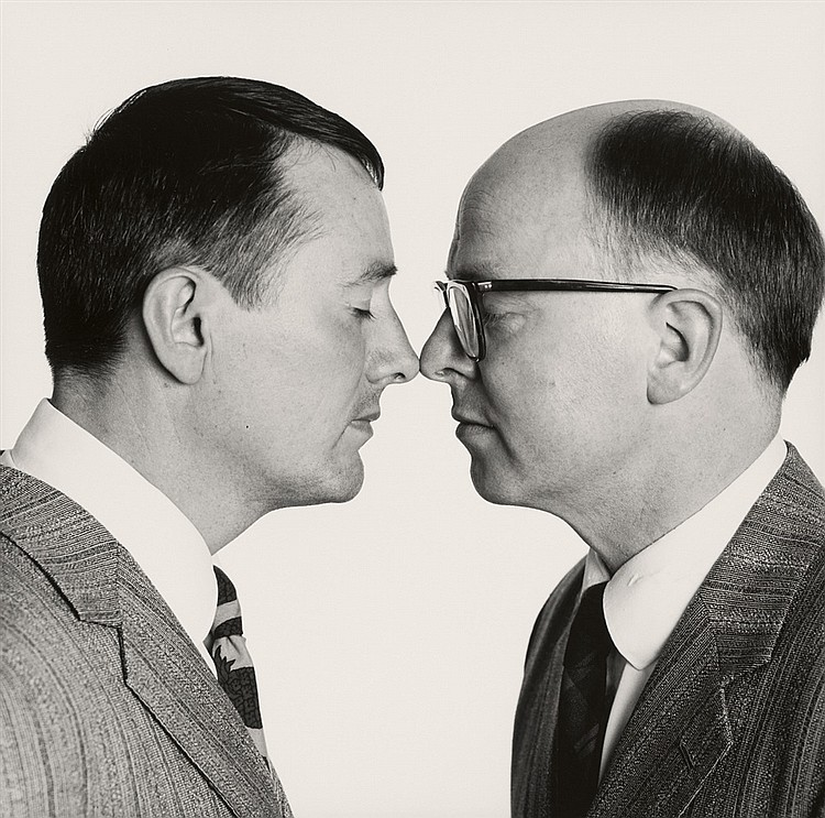 Abe Frajndlich, Gilbert + George, New York City, 1987