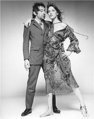 Jane Birkin and Serge Gainsbourg, 1969  TERRY O'NEILL (b. 1938)