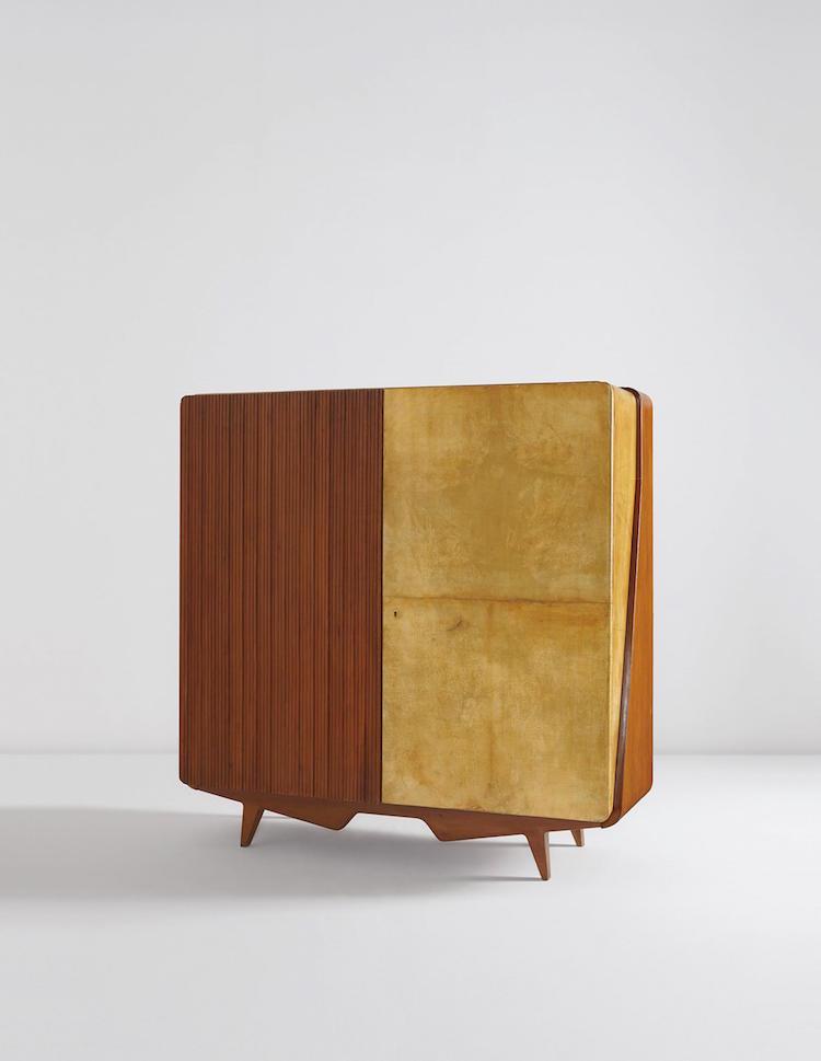 GIO PONTI. Unique armoire, circa 1958. Estimate $15,000 - $25,000. Photo via Phillips
