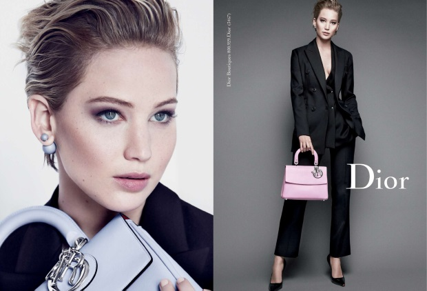 Jennifer Lawrence for Christian Dior, photographed by Patrick Demarchelier in 2014