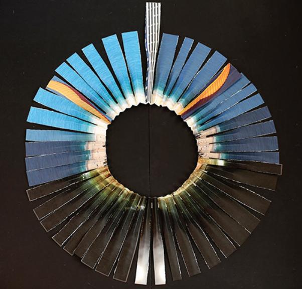 Parure Circulaire (Pedra Bonita), Photographie, Impresion photographique sur papiers mat, 90 x 97 cm 2017, exemplaire unique