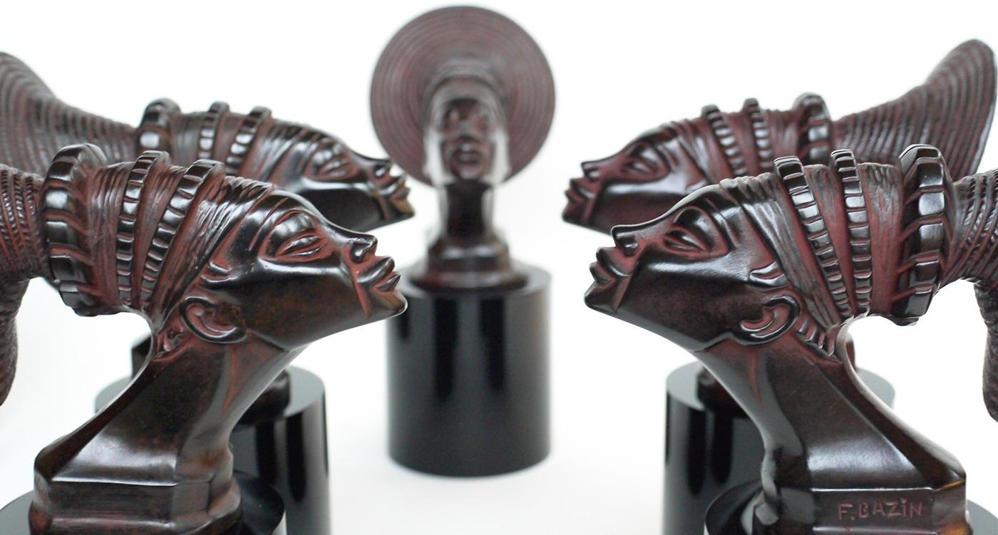 Sculptures par Julie Bazin, image via ClassicDriver