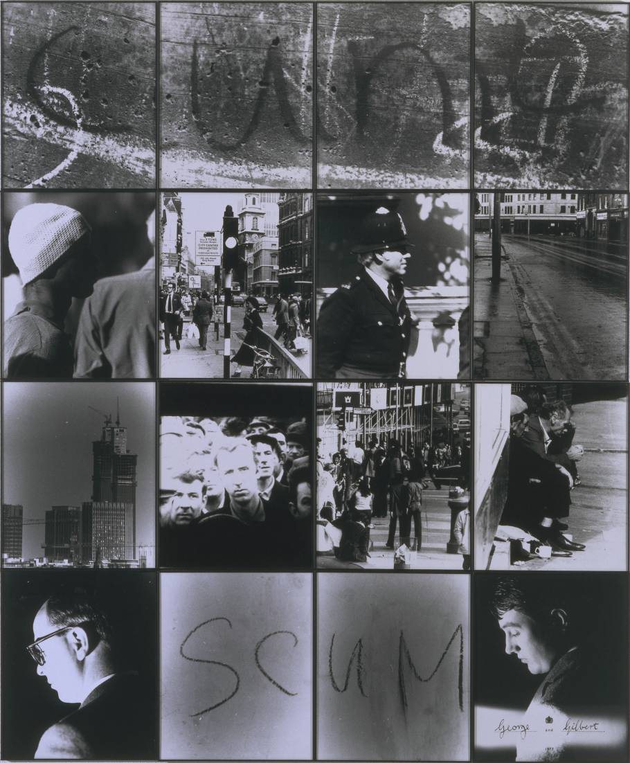 Cunt Scum 1977 Image via The Tate © Gilbert and George