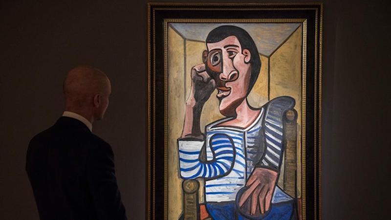 "Picassos ""Le Marin"" von 1943 | Foto: © PHILIP FONG/AFP/Getty Images"