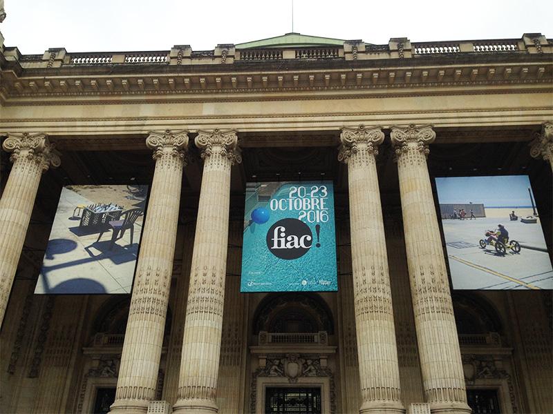L'entrée magistrale du Grand Palais, FIAC 2016 Image: Barnebys