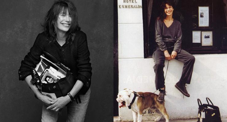 Jane Birkin et son Sac Birkin - Image: Luxuo via Barnebys