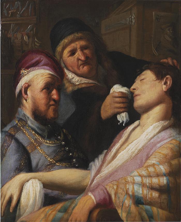 Fyndad Rembrandt van Rijn. Bild: Barnebys