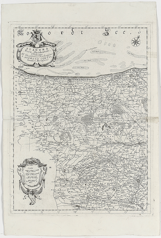 KARTOR 2 st, Coronelli, 1700-tal. Utropspris: 2 000 SEK. Bukowskis market