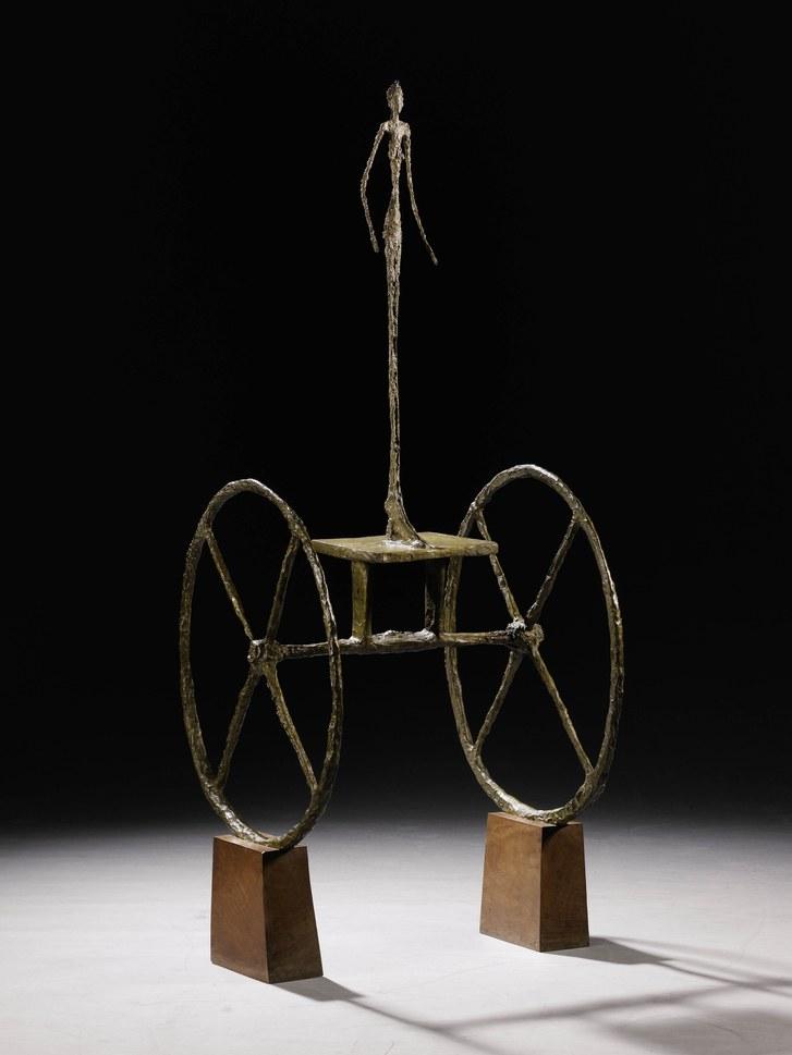 « Chariot », Alberto Giacometti, image ©Christie's