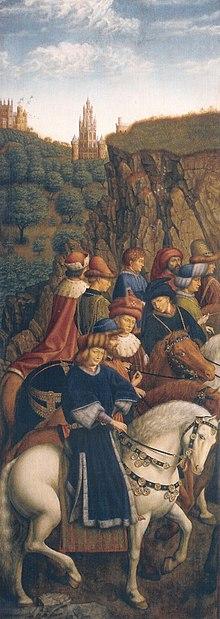 Just Judges, Ghent Altarpiece.