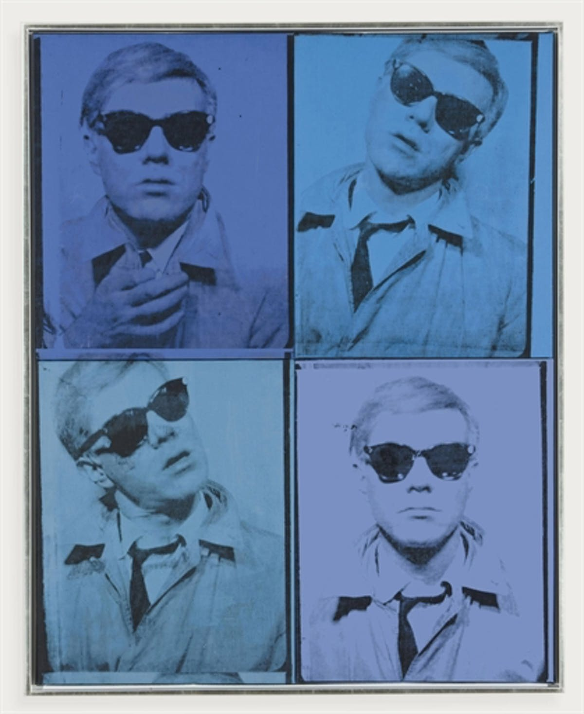 Andy Warhol, 'Self-Portrait'. Image: Barnebys