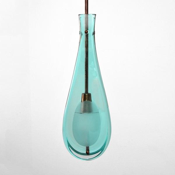 98: Fontana Arte lampa. Utrop: $3000 - 5000