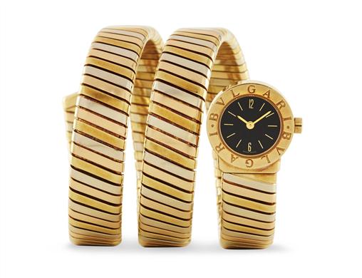 Damklocka i tre färger, Bulgari. Fast pris: 12,900 USD Christie's Online shop