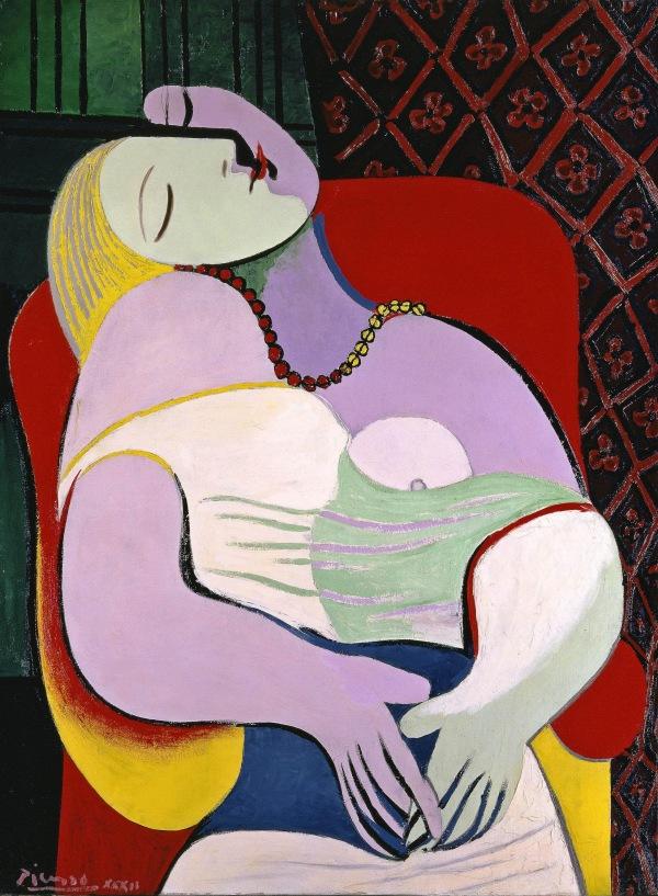Pablo Picasso The Dream (Le Rêve) 1932, Private Collection © Succession Picasso/DACS, London 2017