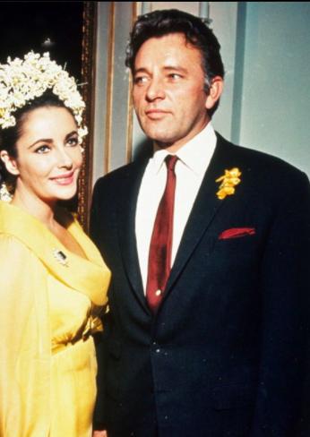 Le mariage d'Elizabeth Taylor et Richard Burton en 1964 Image via skyrock.com