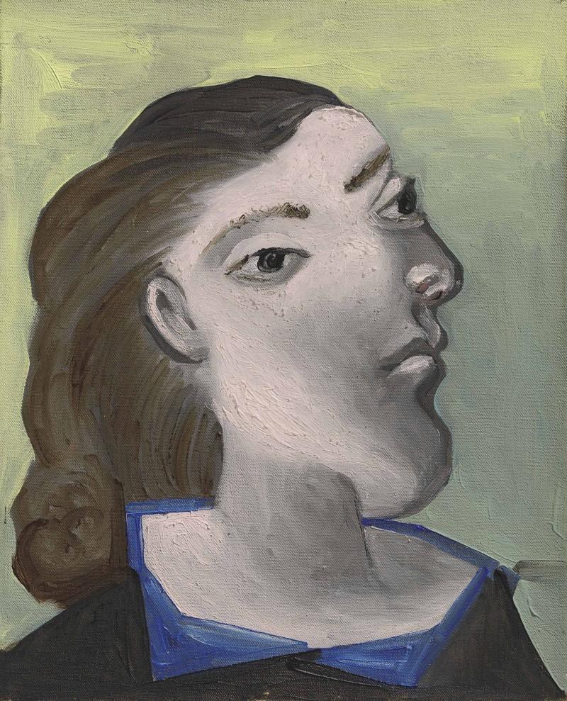 """Tête de femme ""(Dora Maar), år 1941. Foto: Christie's."