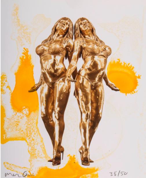 Marc Quinn (b.1964) The Ecstatic Autogenesis of Pamela. Schätzpreis: 280 EUR.  Dreweatts & Bloomsbury