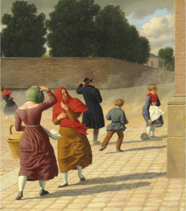 C. W. ECKERSBERG - En Storm, 1845