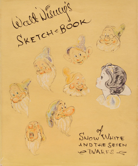 "Walt Disney, ""Sketch Book""  London and Glasgow, Wm. Collins Sons & Co. Ltd, 1938 Peter Harrington"