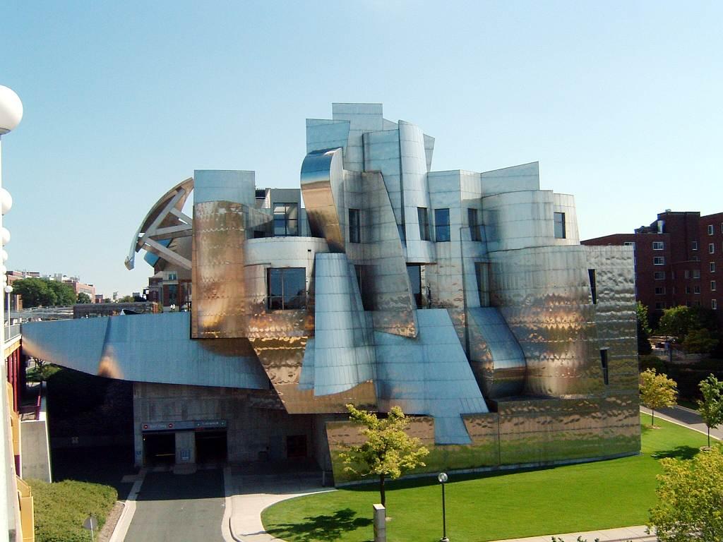 Weisman Art Museum ritat av Frankl Gehry 1993