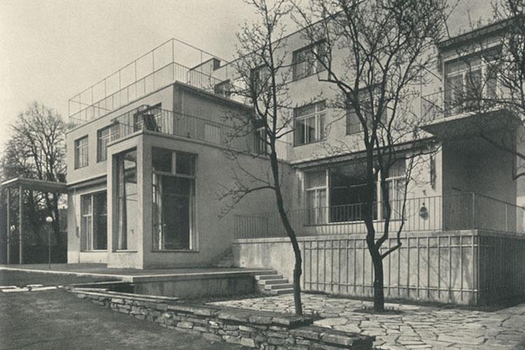 Josef Frank - Haus in der Wenzgasse. Photo: Wien Museum
