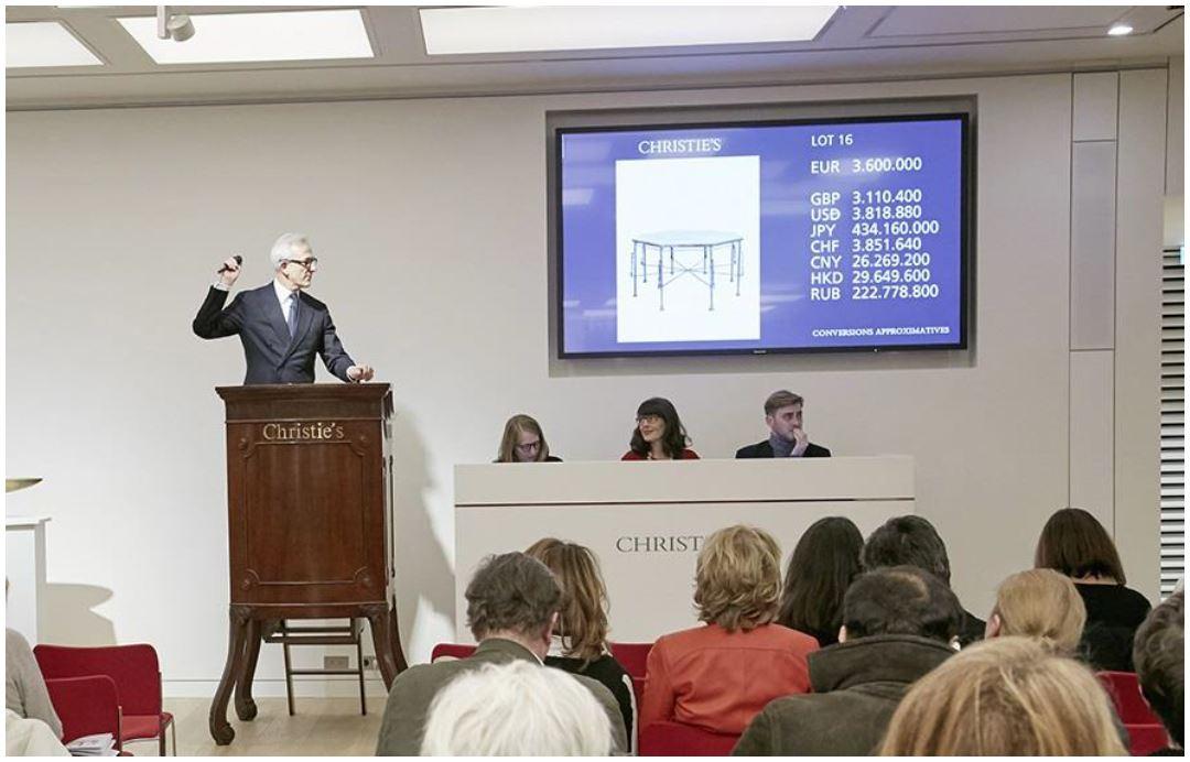 Le 6 mars 2017, Christie's a réalisé un total de 32 748 500 € avec 100% des lots vendus lors de la vente Les Giacometti d'Hubert de Givenchy Image: courtesy of Christie's