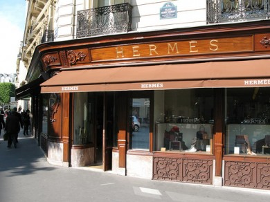 Boutique Hermès, 24 rue Faubourg-Saint-Honoré, Paris - image: artdecollection.com via Barnebys
