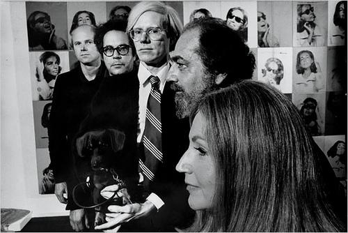 Robert C. Scull, Ethel Scull avec les maîtres du Pop Art Image via artmarketmonitor.com