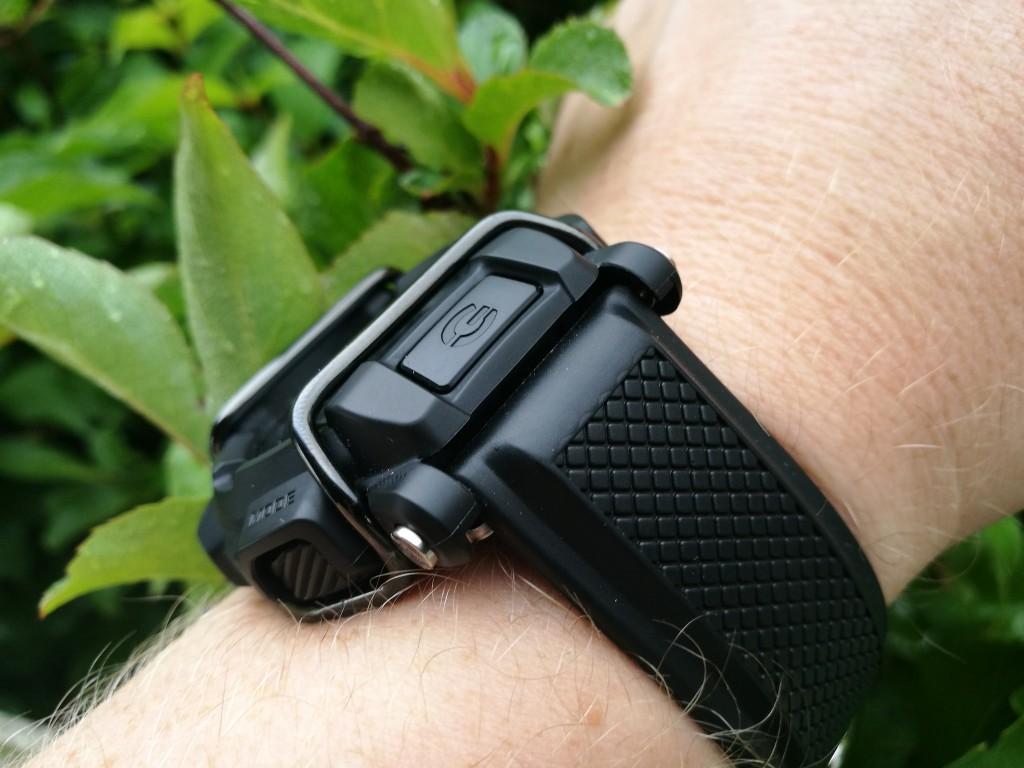 Todays Wristshot: Casio G-Shock MB400-1ER on a Hirsch caoutchoucstrap(photo: Johan Sehlstedt)