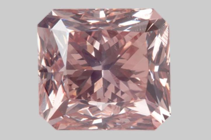 Diamant Natural Fancy Brownish Orangy Pink de 1.99 carat