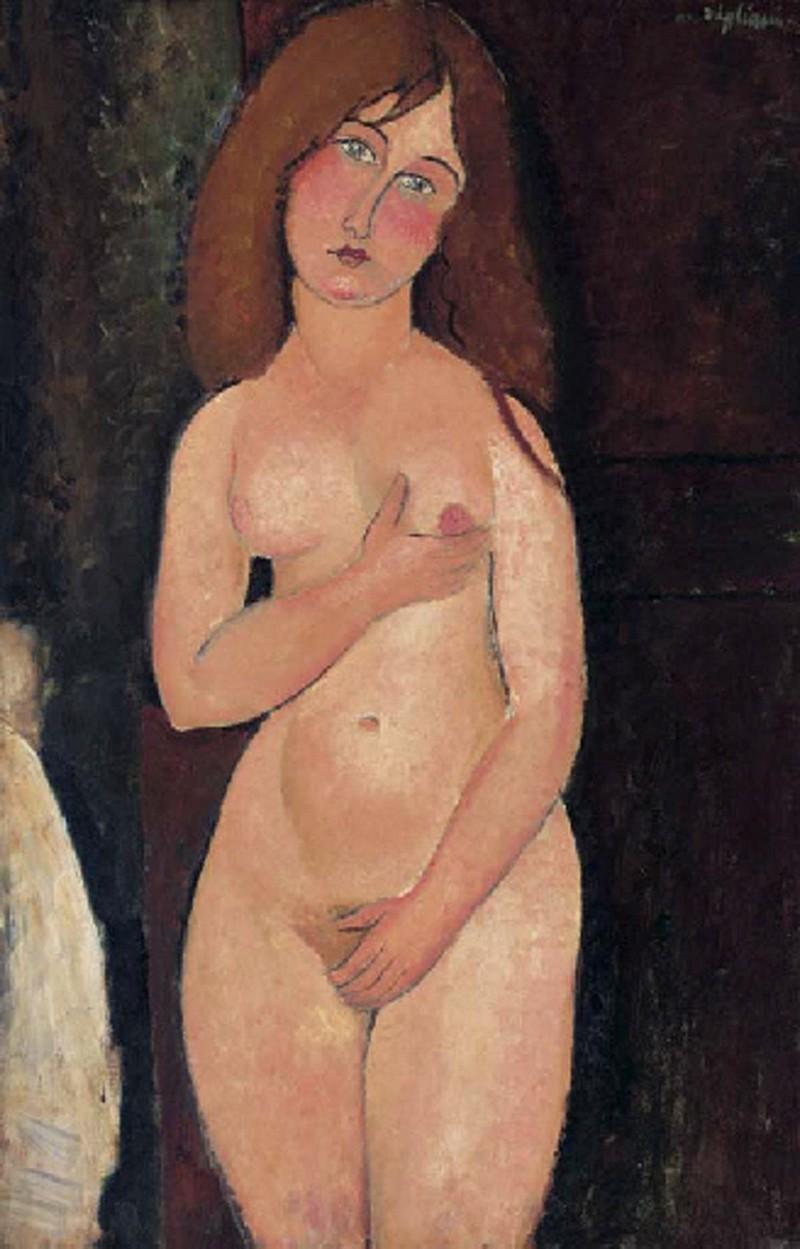 Amadeo Modigliani, 'Vénus (Nu debout, nu médicis), 1917. Bild: Christies