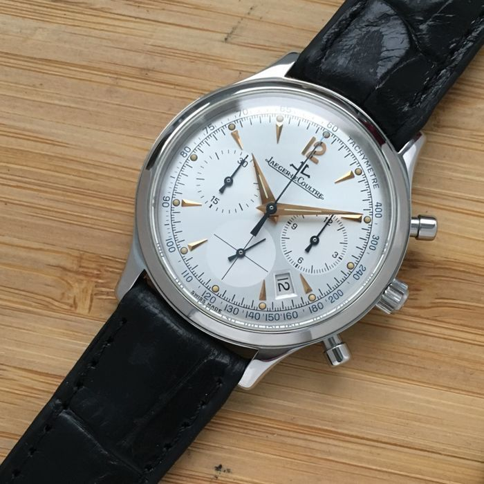 Jaeger-LeCoultre, Watch Master Control Chronograph in Silver (2000). Photo: Catawiki